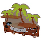 more details on Bebe Style Pirate Themed Hanger and Shelf.