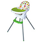 more details on Bebe Style 3 in 1 Highchair - Green.