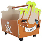 more details on Bebe Style Pirate Themed 2 Part Toy Box.