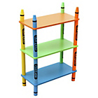 more details on Bebe Style Crayon 3 Tier Shelves - Green.
