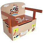 more details on Bebe Style Pirate Convertible Toy Box Bench.