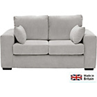 more details on Heart of House Eton 2 Seater Fabric Sofa - Grey.