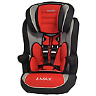 more details on TT Nania Imax SP Luxe Group 1-2-3 Car Seat - Agora Carmin.