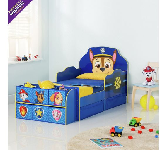 Buy Paw Patrol Cube Toddler Bed Frame Blue At Argos Co