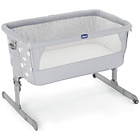 more details on Chicco Next2Me Silver Circles Crib.