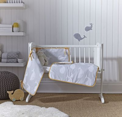 buy clair de lune lottie and squeek 2 piece cot cot bed. Black Bedroom Furniture Sets. Home Design Ideas