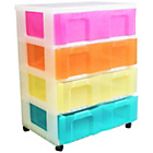 more details on Really Useful 4 x 30L Tower Unit - Multicoloured.