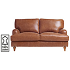 more details on Heart of House Livingston 2 Seater Leather Sofa - Tan.