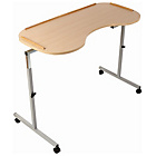 more details on Adjustable Curved Overbed/Chair Table – 40cm Depth.