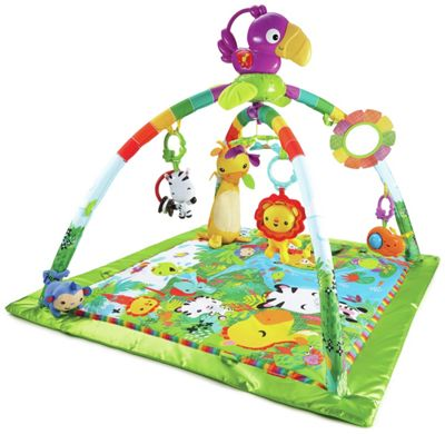 buy chad valley rainbow playmat jungle at. Black Bedroom Furniture Sets. Home Design Ideas