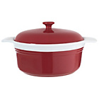 more details on HOME 24cm Casserole Dish - Red.