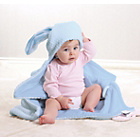 more details on Claire De Lune Honeycomb Hooded Ear Blanket - Blue.