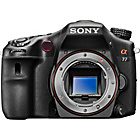 more details on Sony A77 24MP 3D DSLR Camera Body Only - Black.
