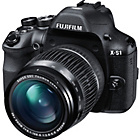 more details on Fuji FinePix X-S1 12MP Bridge Camera - Black.