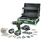 more details on Bosch PSB1800 Hammer Drill with 241 Accessories - 18V.