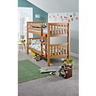 more details on Heavy Duty Bunk Bed with 2 Ashley Mattresses - Pine.