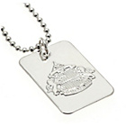 more details on Silver Plated Sunderland Dog Tag & Ball Chain.
