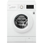 more details on LG FH4G7TDN0 8KG 1400 Spin Washing Machine - White.