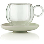 more details on La Cafetiere Bola Glass Coffee Mugs - Set of 4.