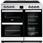 more details on Belling Cookcentre 90E Electric Range Cooker-Stainless Steel