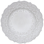 more details on Katie Alice Collection Embossed Dinner Plates - Set of 4.