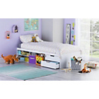 more details on Callum Cabin Bed and Pull Out Desk and Ashley Mattress-White