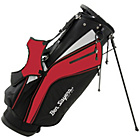more details on Ben Sayers X-Lite Stand Bag - Black/Red