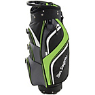 more details on Ben Sayers 14 Way Deluxe Cart Bag - Black/Lime