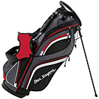 more details on Ben Sayers 14 Way Deluxe Stand Bag - Black/Red