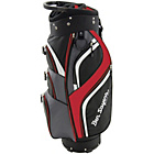 more details on 14 Way Deluxe Cart Bag - Black/Red