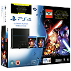 more details on PS4 1TB Console, LEGO Star Wars Game and Star Wars Blu-Ray.