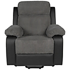 more details on Collection Bradley Riser Recliner Fabric Chair - Charcoal.