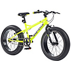 more details on Coyote Fatman 14 Inch All Terrain Bike - Neon Yellow