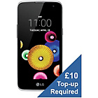 more details on O2 LG K4 Mobile Phone - Black.