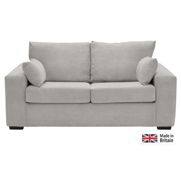 Buy Heart Of House Eton Fabric Sofa Bed Grey At Argos Co Uk Your Online Shop For