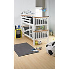 more details on Heavy Duty Bunk Bed - 2 Elliott Mattresses - White and Pine.