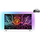 more details on Philips 65PUS6521 65 Inch 4K Ultra HD Ambilight-3 Smart TV.