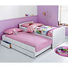 more details on Frankie White Cabin Bed and Trundle with Bibby Mattress.