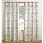 more details on Julian Charles Santorini Lined Curtains 228x228cm-Cornflower