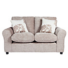 more details on HOME Tessa Compact 2 Seater Fabric Sofa - Mink.