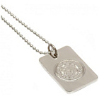 more details on Silver Plated Leicester City Dog Tag & Ball Chain.