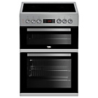 more details on Beko KDC653S Electric Cooker - Silver.