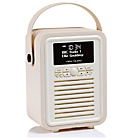 more details on VQ Retro Mini DAB Radio - Cream.
