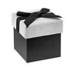 more details on Silver & Black Mini Gift Box.