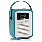 more details on VQ Retro Mini DAB Radio - Teal.