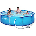 more details on Bestway 10' Steel Pro Frame Pool Set.