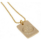 more details on Gold Plated Leicester City Dog Tag & Ball Chain.