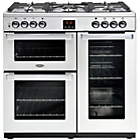 more details on Belling Cookcentre 90G Gas Range Cooker - Stainless Steel.