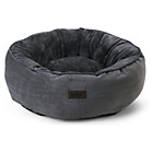 more details on King Pets Grey Snuggle Donut.