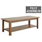 more details on Collection Truro 1 Shelf Coffee Table - Walnut Effect.